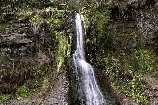 Wasserfall in Baiersbronn.